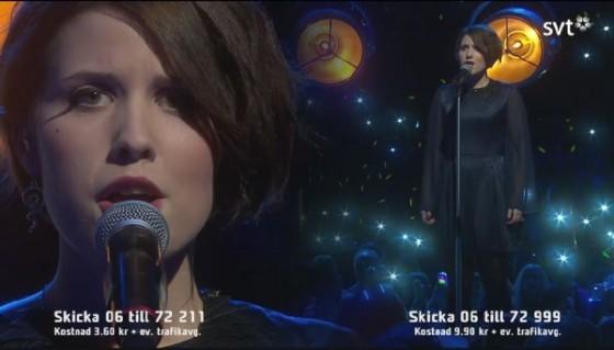 Ellen Benediktson Melodifestivalen Songbird