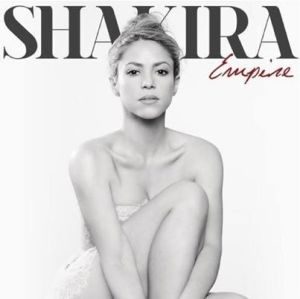 shakira empire cover
