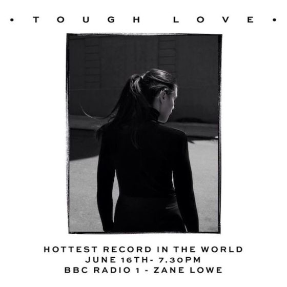 Jessie Ware Tough Love Single Cover Art